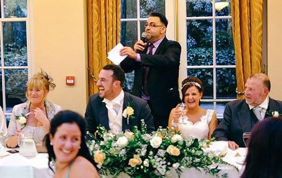 Experience Ian Stewart Wedding Entertainment speaches