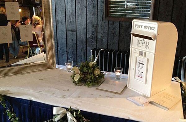 Royal Mail Wedding letter post box